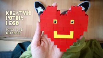 KREATIVNI POTOP: LEGO