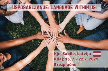 Usposabljanje: Language Within us