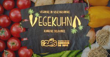 VegeKuhna | Falafel in veganski cheesecake