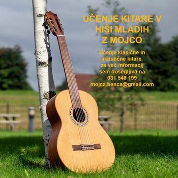 Tečaj klasične kitare z Mojco