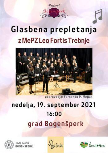 Koncert MePZ Leo Fortis
