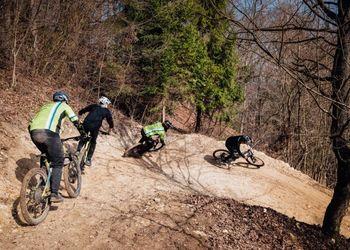 Odprtje novega gorskokolesarskega parka Cilenca Trails