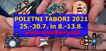 Počitnice za osnovnošolce / mini band camp 25.-30.7.2021
