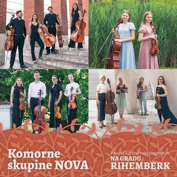 Koncert komornih skupin Glasbenega društva NOVA