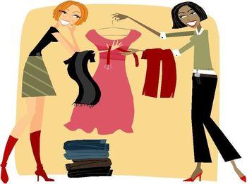 Izmenjava in predelava oblačil