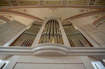 Blagoslov novih orgel v župnijski cerkvi Sv. Pavla v Preboldu