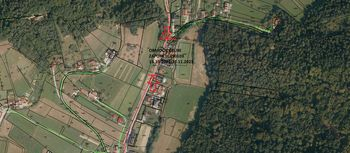 Delna zapora občinske ceste LC490103 Šešče - Matke