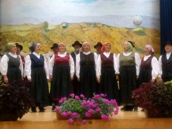 Podelitev priznanj in zahval ob 30-letnici Aktiva kmečkih žena Zabukovje