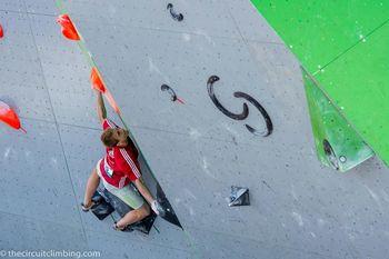 L'Argentier, 3. tekma EYS, balvani v plezanju