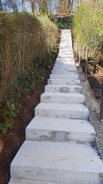 Prenovljene stopnice