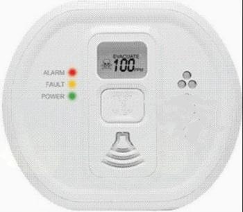 Postopki v primeru aktiviranja zvočnih signalov alarma na javljalnikih ogljikovega monoksida (CO)