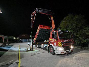 Novejše vozilo GTV v PGD Kanal