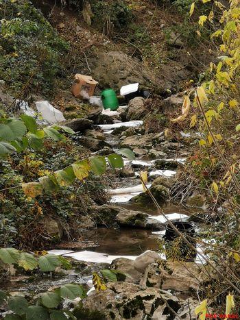 Razlitje kurilnega olja v reko Sočo