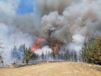 Državna pomoč pri gašenju požara v naravi v Severni Makedoniji