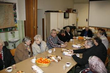 Predbožično srečanje za starejše na Brdu