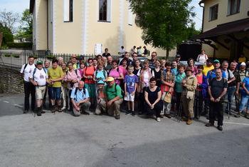 Prvi pohod po poti blaženega Alojzija Grozdeta, od Tržišča do Studenca