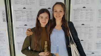 Mlada raziskovalka Tajda Paradiž osvojila zlato