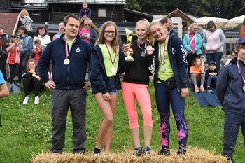 Mladinke PGD Dvor državne prvakinje v orientaciji