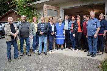 90 let Rozalije Žibert iz Rovišč pri Studencu