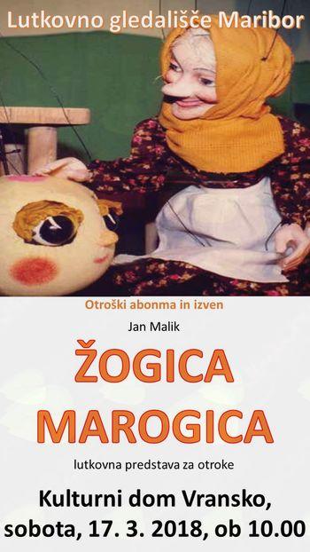 ŽOGICA MAROGICA - otroški abonma in izven