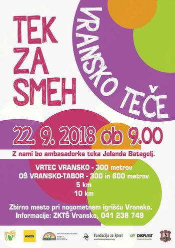 TEK ZA SMEH - VRANSKO TEČE 2018