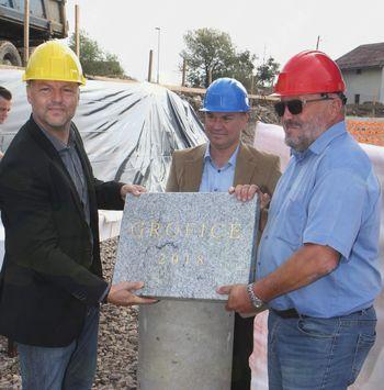 Položili temeljni kamen za sosesko Grofice