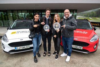 Najboljša za volanom 2019 Laura Cerovšek in Luka Gril
