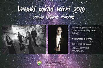VRANSKI POLETNI VEČERI 2019- OŽIVIMO KULTURNO DEDIŠČINO