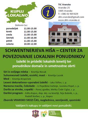 Schwentnerjeva hiša - center za povezovanje lokalnih ponudnikov
