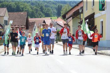 Slovenska bakla je 15. junija 2021 obiskala občino Vransko