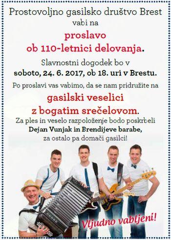 Gasilska veselica Brest