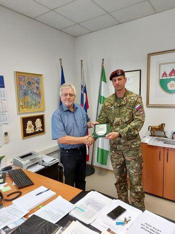 Zahvala Slovenske vojske