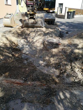 Obnova vodovoda na Čolnarski ulici