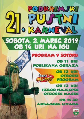 Podkrimski pustni karneval 2019