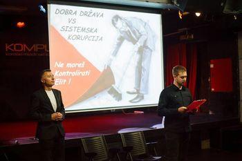 Bojan Dobovšek - sistemska korupcija v Sloveniji