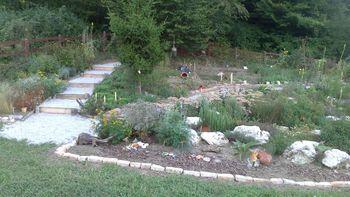 Vrt tete Johance, Europark Zagorje ob Savi