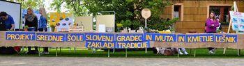 Predstavitev projekta Srednje šole Slovenj Gradec in Muta ter kmetije Lešnik – ZAKLADI TRADICIJE - skupaj s predsednikom države