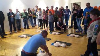Teden za naše zdravje - AED rešuje življenja