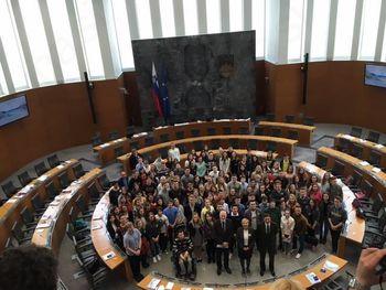 Nacionalni otroški parlament v Državnem zboru RS