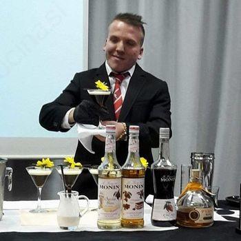 4. najbojši barman v Sloveniji