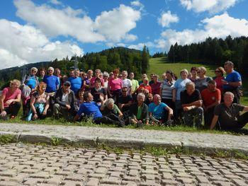 Planinci PD Slovenj Gradec na Sv. Višarjih  in Kamnitem lovcu (2071m)