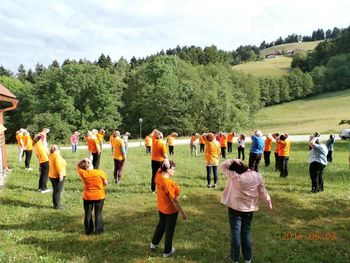 V Turiški vasi smo praznovale 1. obletnico.