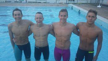 Kadeti  državni prvaki v plavanju