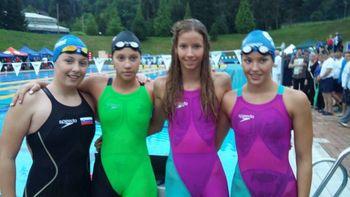 Kadetinje državne prvakinje v plavanju