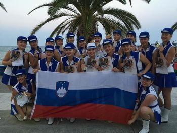 Sevniške mažorete iz Grčije prinesle prvo mesto