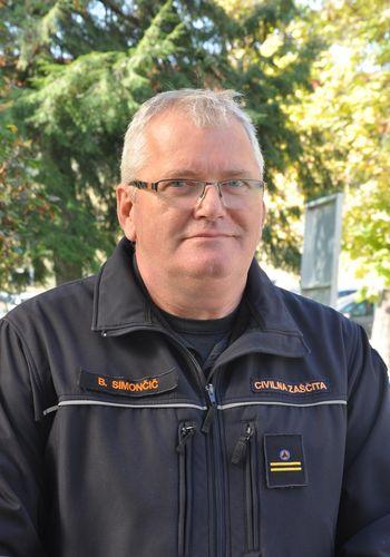 Borut Simončič, strokovni sodelavec Občine Sevnica za področje civilne zaščite