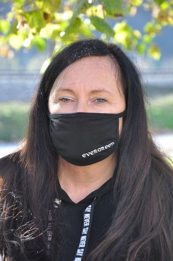 Stanka Žičkar, direktorica podjetja Evergreen, ki je letos prejelo Grb Občine Sevnica