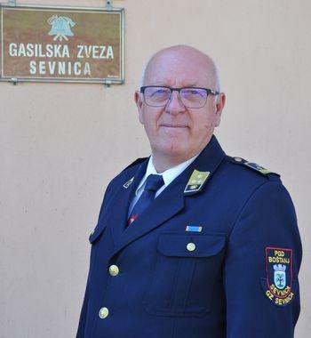 Intervju z Vinkom Knezom, predsednikom Gasilske zveze Sevnica