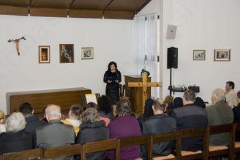 Odprtje slikarske razstave ob 100-letnici rojstva Mihaele Černic-sestre Adelgundis