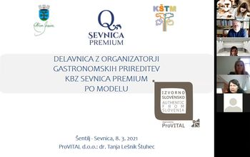 Nadgradnja kolektivne blagovne znamke Sevnica Premium